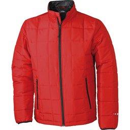 Men's Padded Light Weight Jacket rood