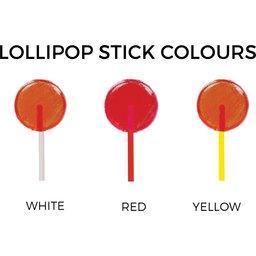 Mini lollipops kleuren
