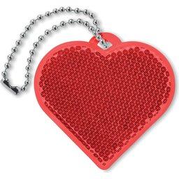 Hartvormige reflector bedrukken