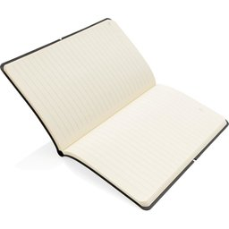 Moderne deluxe softcover notitieboek A5-open