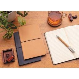 Moderne deluxe softcover notitieboek A5-sfeerbeeld