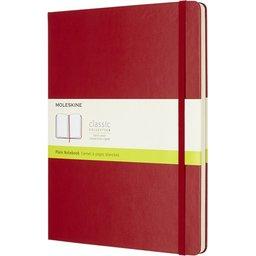 Moleskine Classic XL notaboek met harde cover en effen papier