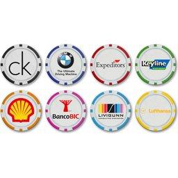 Monaco Poker Chip Ballmarkers