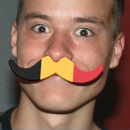 Moustache voor supporters