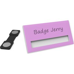 Naambadge Color Roze