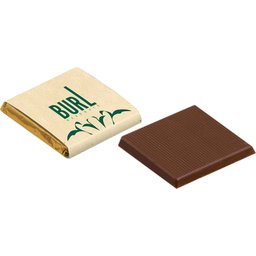 Napolitain melk chocolade met recycled papier