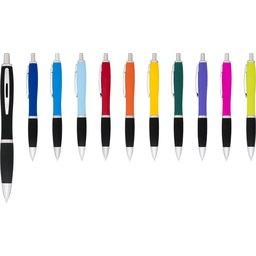 Nash balpen met rubberen grip bedrukken pen