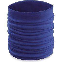 Nekwarmer colsjaal blauw