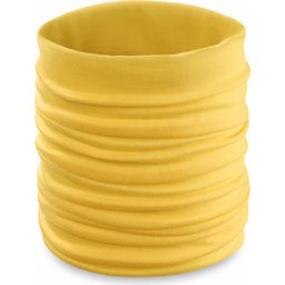 Nekwarmer colsjaal geel