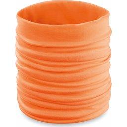 Nekwarmer colsjaal oranje