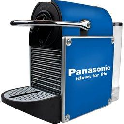 Nespresso Pixie Metal Alu koffiemachine bedrukken