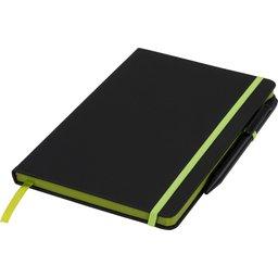 Noir Edge medium notitieboek -groen