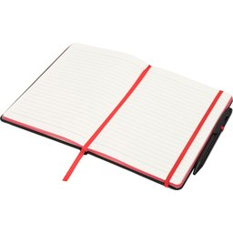 Noir Edge medium notitieboek -open