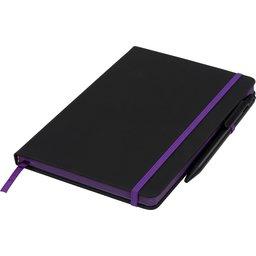 Noir Edge medium notitieboek -paars