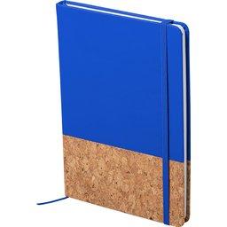 Notitieblokje Bluster-blauw