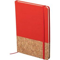 Notitieblokje Bluster-rood