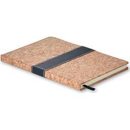 Notitieboek met cover uit kurk
