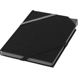 Notitieboek met dubbele elastiek