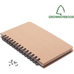 Notitieboek pijnboom zaad