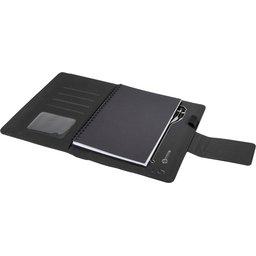 O16 A5 notitieboek met oplichtend logo-open