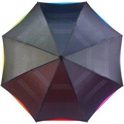 Omkeerbare paraplu met gekleurde onderlaag - Ø107 cm
