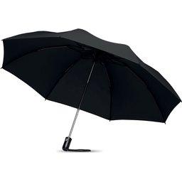 Opvouwbare omdraaibare 23 inch paraplu bedrukken