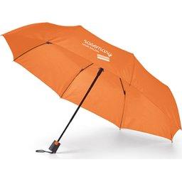 Opvouwbare paraplu in hoes Ø98 cm bedrukken