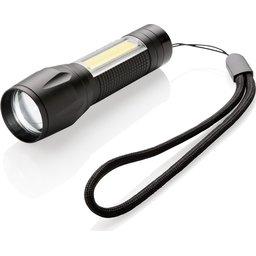LED 3W focus zaklamp met COB