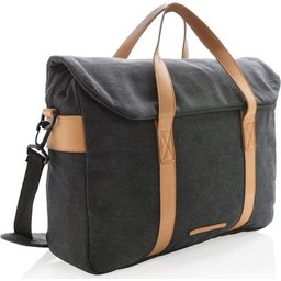 Laptop tas canvas zonder PVC