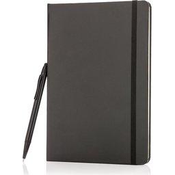 A5 basic hardcover notitieboek met touchscreen pen bedrukken