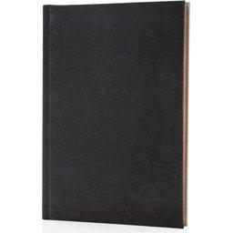 Deluxe stoffen 2-in-1 A5 notitieboek bedrukken