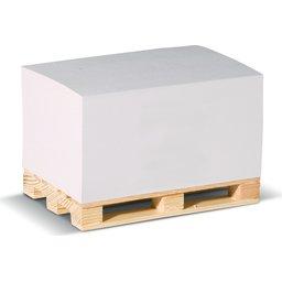 Palletblok Recycled Papier 12 x 8 x 6 cm