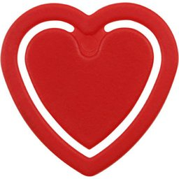 Paperclip in vorm van hartje