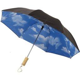 Paraplu Blue skies bedrukken