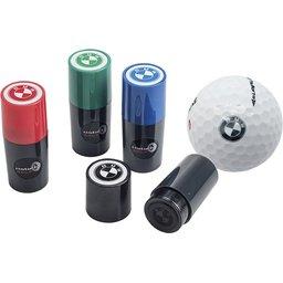 Permanente golfbalstempel