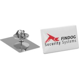 Pin Slim rechthoekig - 30x18mm