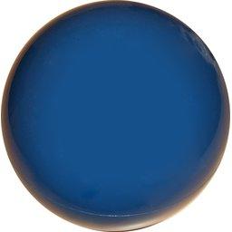 Plastic voetbal blauw