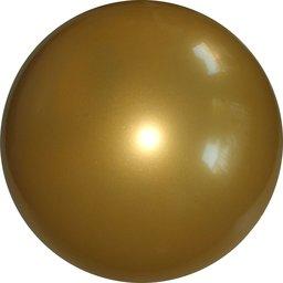 Plastic voetbal goud