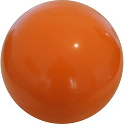 Plastic voetbal oranje