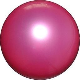 Plastic voetbal violet