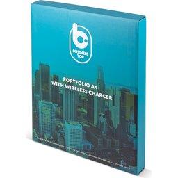 Portfolio met Draadloze Lader 5W A4-verpakking