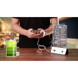Powerbank display - 4 USB outputs - 10.000 mAh 1