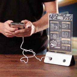 Powerbank display - 4 USB outputs - 10.000 mAh