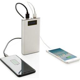 Powerbank met display en 2 USB poorten - 10