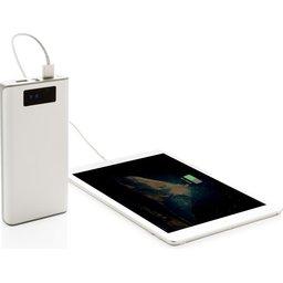 Powerbank met display en 2 USB poorten - 20
