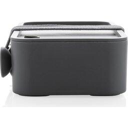 PP Lunchbox met Spork-antraciet zijkant2