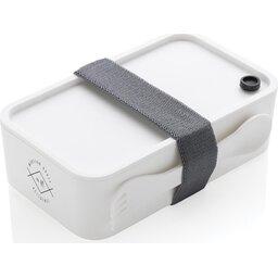 PP Lunchbox met Spork-gepersonaliseerd