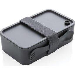 PP Lunchbox met Spork-grijs