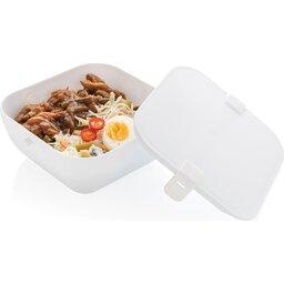 PP lunchbox vierkant-open