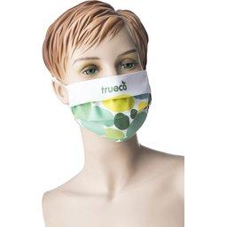 Promo stoffen mondmasker met bedrukking naar keuze 1